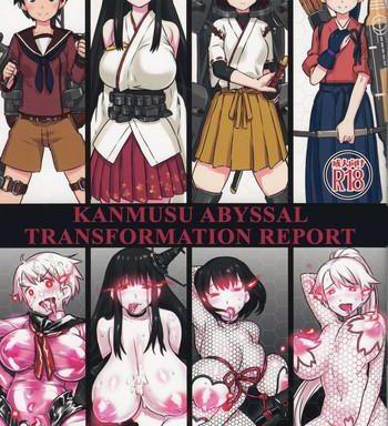 shinkai seikanka kanmusu report kanmusu abyssal transformation report cover
