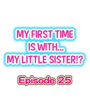 my first time is with my little sister ch 25 cover
